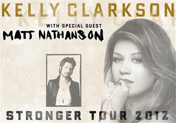 Kelly Clarkson Stronger Tour Feb 23rd