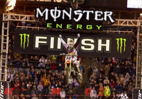Monster Energy AMA Supercross Feb 25