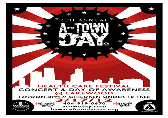 6th Annual A-Town Day March 17th