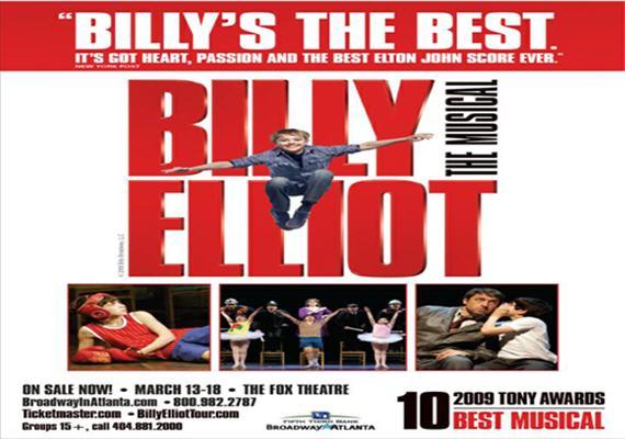 Billy Elliot March 13th – 18th