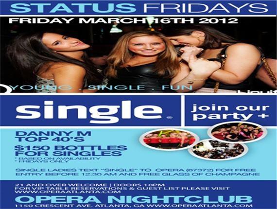 Status Fridays @ Opera Nightclub