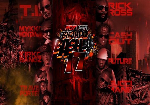 2012 Hot 107.9 Birthday Bash June 16th
