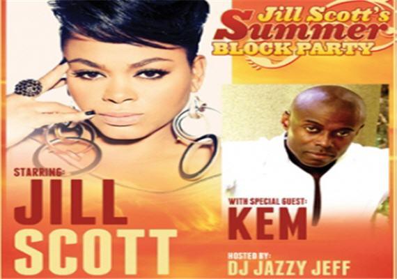 Jill Scott's Summer Block Party June 30th