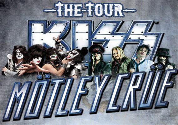 KISS and Mötley Crüe July 24th