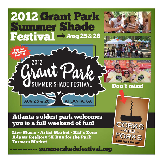 2012 Grant Park Summer Shade Festival Aug 25th & 26th