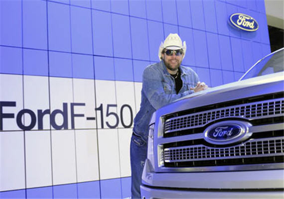 Ford F-Series Presents Toby Keith with Brantley Gilbert