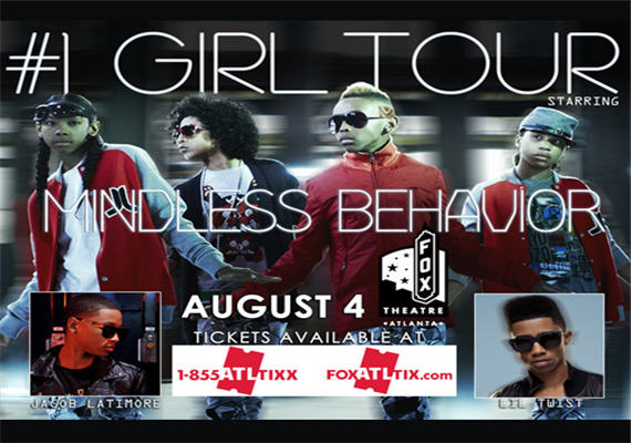Mindless Behavior August 4th & 5th
