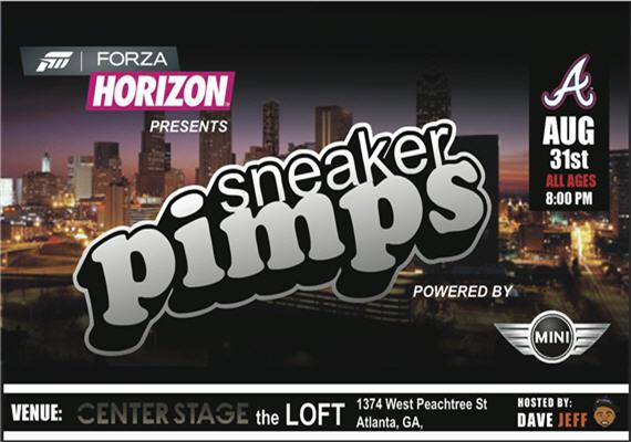 Sneaker Pimps Atlanta Aug 31st