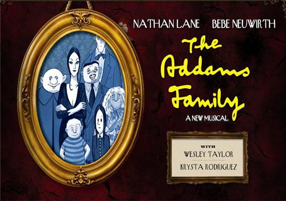 The Addams Family August 14th – 19th