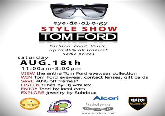 Tom Ford Style Show August 18th