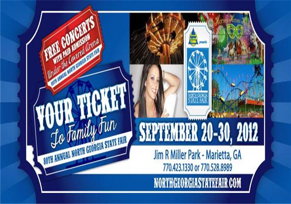 2012 North Georgia State Fair Sept 20th – 30th
