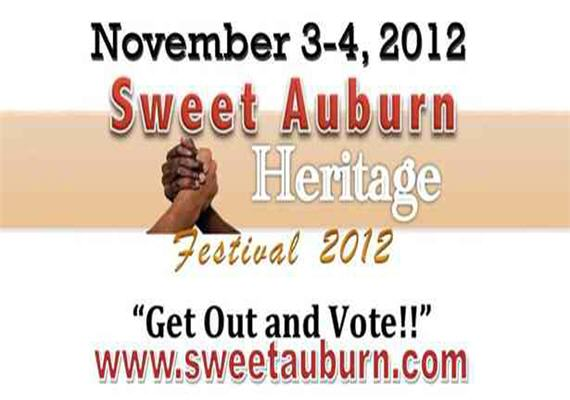 Sweet Auburn Heritage Festival 2012 (Get Out and Vote)
