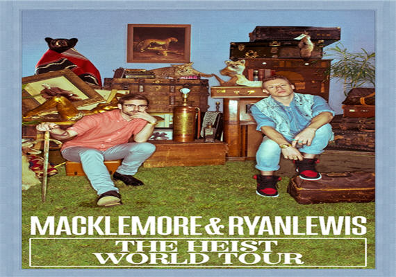 Macklemore & Ryan Lewis – The Heist World Tour – Nov 8th