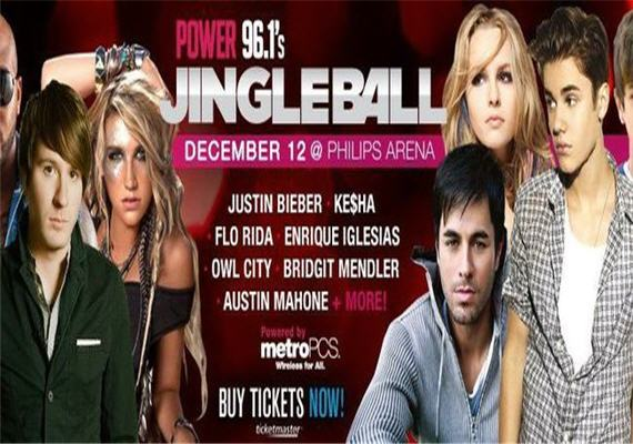 2012 Power 96.1 Jingle Ball – Dec 12th