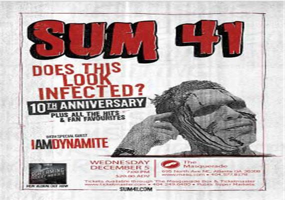 Sum 41 – December 5th @ Masquerade