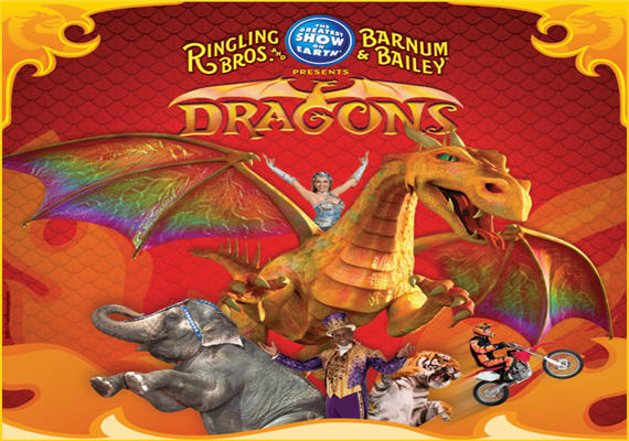 Ringling Bros and Barnum & Bailey: Dragons – Atlanta – Feb 13th – 18th