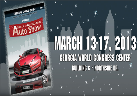 2013 Atlanta International Auto Show March 13th – 17th