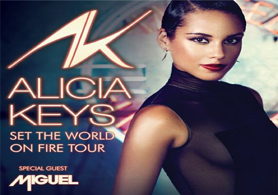 Alicia Keys – Set The World On Fire Tour – March 29th