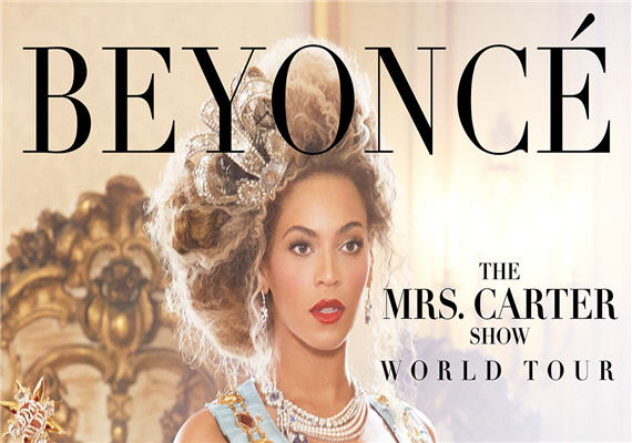 Beyonce's Mrs. Carter Show World Tour July 12th