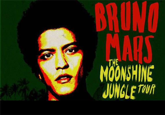 Bruno Mars Moonshine Jungle World Tour Aug 22