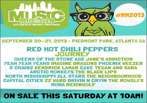 2013 Music Midtown Festival Sept 20th & 21st