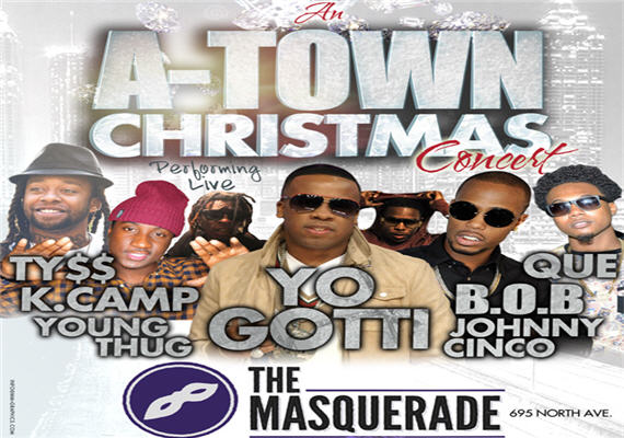 An A-Town Christmas Dec 21st