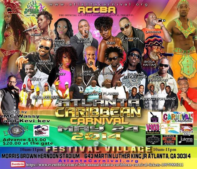 2014 Atlanta Caribbean Carnival – May 24th