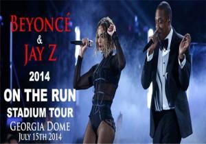 JAY Z Beyonce On The Run Tour Atlanta GA Dome