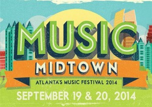 Music Midtown Festival 2014