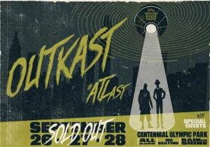 OutKast ATLast Centennial Olympic Park