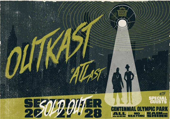 OutKast #ATLast @ Centennial Olympic Park – Sept 26th – 28th