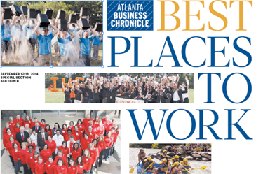 Atlanta's Best Places to Work 2014