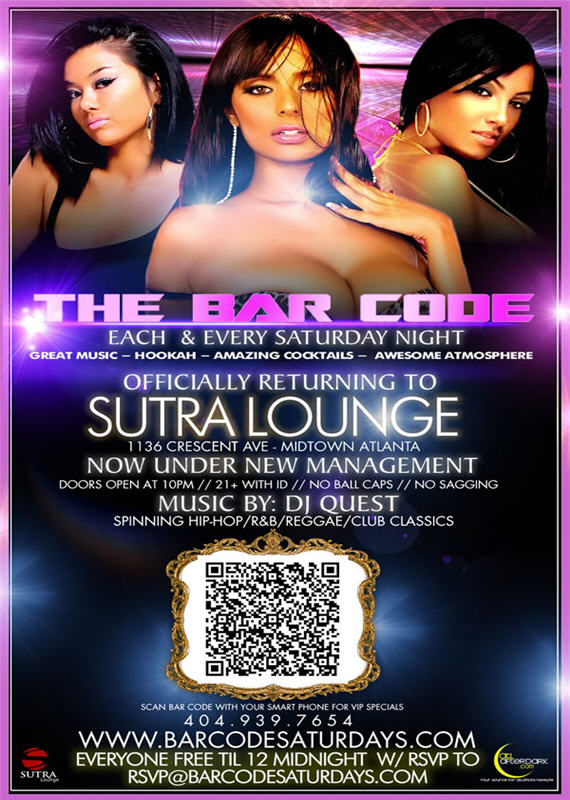 The Bar Code Saturdays Sutra Lounge
