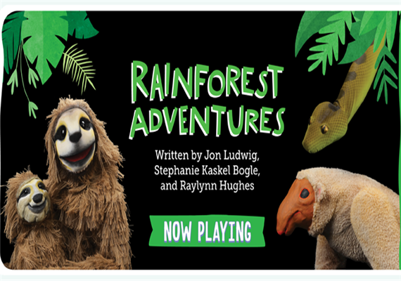 Rainforest Adventures – Jan 29 – Mar 15