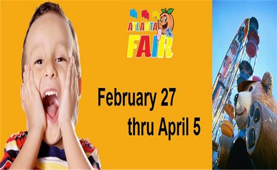 2015 Atlanta Fair – Feb 27th – April 5th
