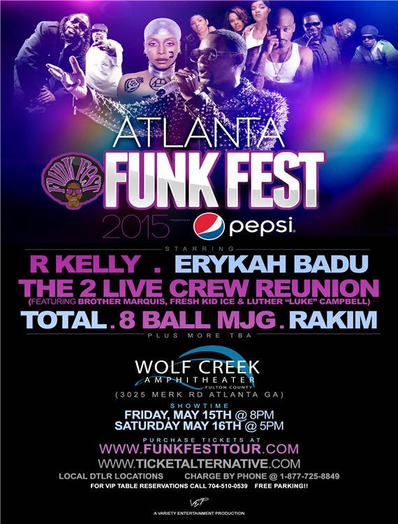 Funk Fest Atlanta 2015