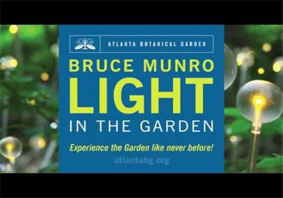 Bruce Munro: Light in the Garden @ Atlanta Botanical Garden