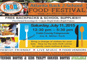 Atlanta Back 2 School Food Festival 2015