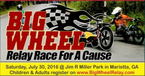 Big Wheel Relay Race for a Cause