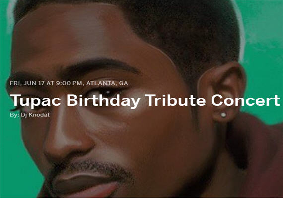 Tupac Birthday Live Music & Poetry Tribute Concert