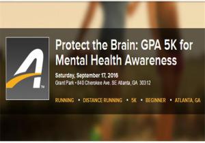 Protect the Brain GPA 5K for Mental Health Awareness